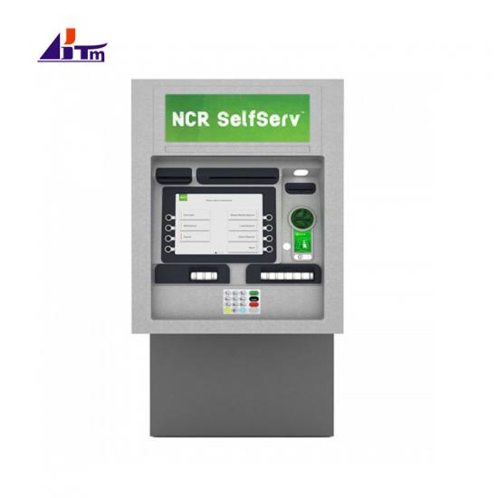 NCR 6634 ATM Machine NCR SelfServ 34 Walk-Up Through-The-Wall Full-Function ATM